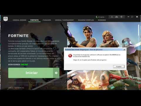 fortnite client win64 shipping exe application error