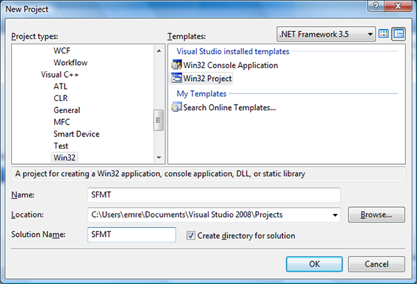 dll is not a valid win32 application visual studio