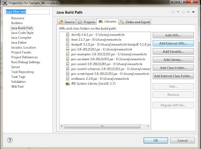 from excel to pdf java