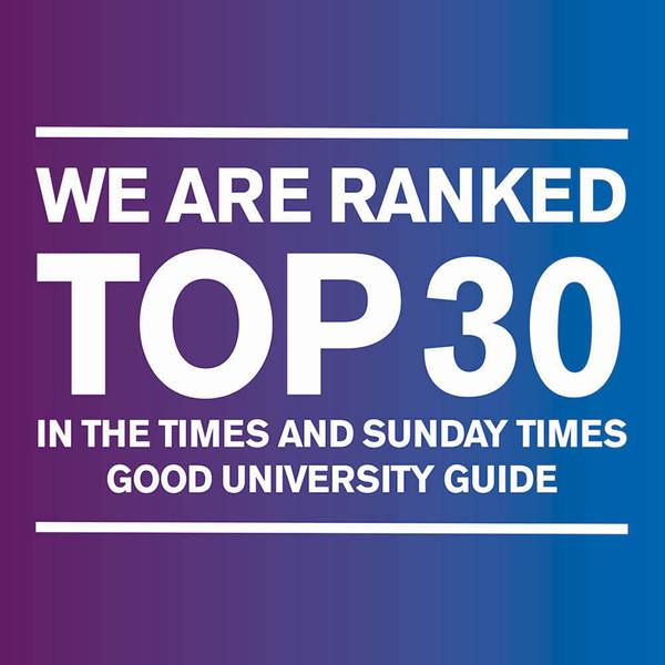 times and sunday times good university guide