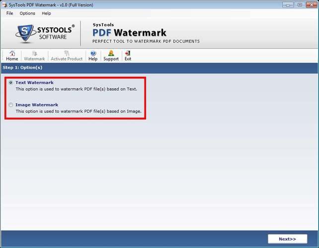 how to watermark a pdf