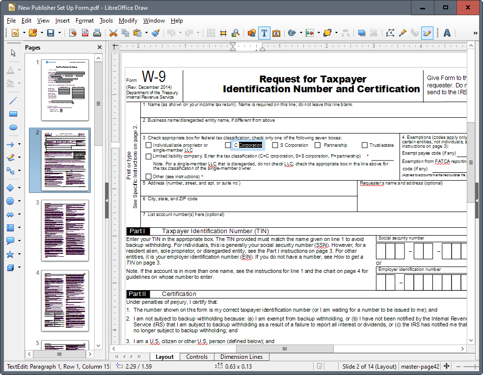 onlly rotate one page in pdf xchange
