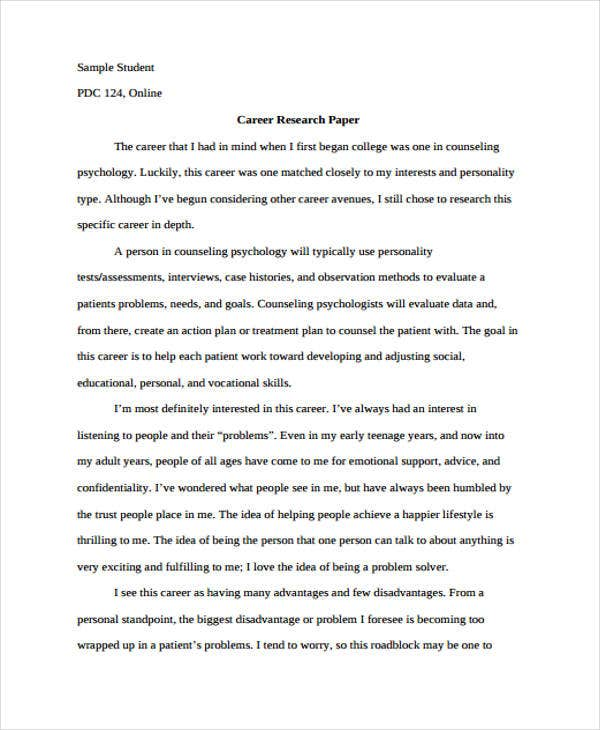 how to write scientific research paper pdf