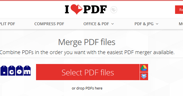 combine pdfs into one pdf online