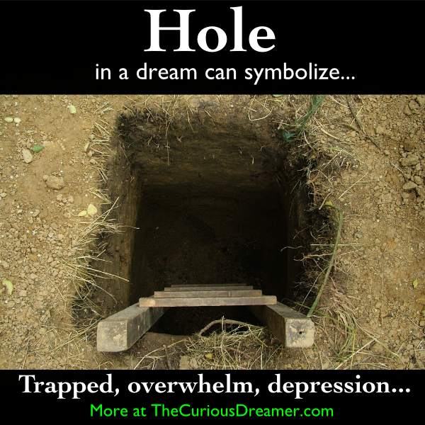 the meaning of hole in the dictionary