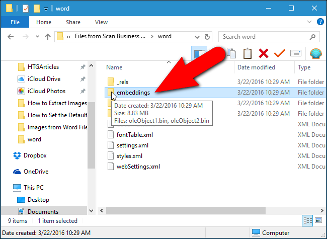 how to extract word from pdf