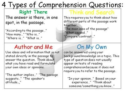 reading comprehension for grade 7 with questions and answers pdf