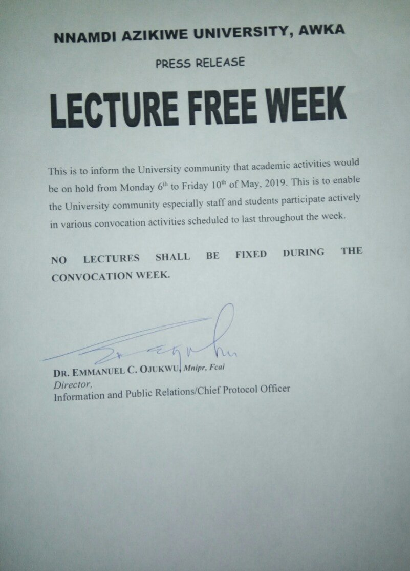 national open university of nigeria lecture notes pdf